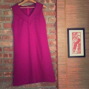 Retro vintage pink dress